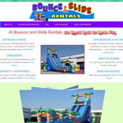 Bounce & Slide Rentals   Visit Website