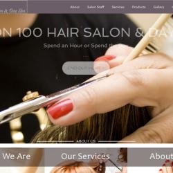Salon 100 Hair Salon & Day Spa   Visit Website